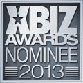 XBIZ Awards Nominee - 2013